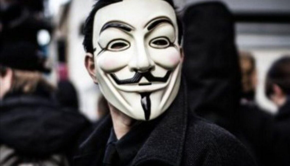 Anonymous 1 facemask