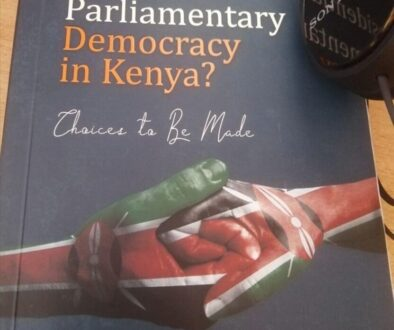 Presidential or Parliamentary democracy in Kenya - Anyang Nyong'o