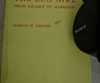 The Luo Girl from Infancy to marriage by Simeone H Ominde